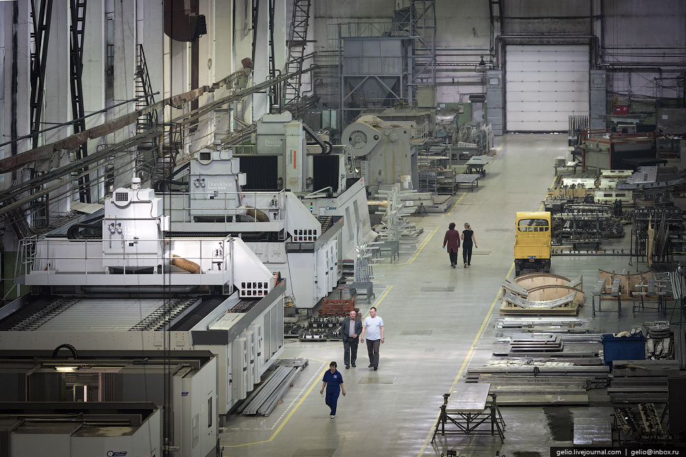 Производство самолетов Су-30 и Як-130. Иркутский авиационный завод