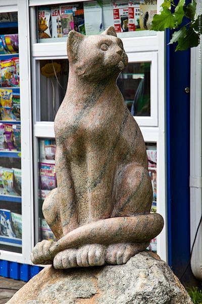Картинки по запросу скульптура кошки  могилев