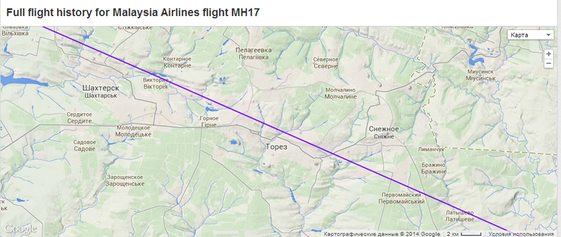 2014-07-18 19-18-21 MH17 - Malaysia Airlines - Flight history - Flightradar24 - Google Chrome.png