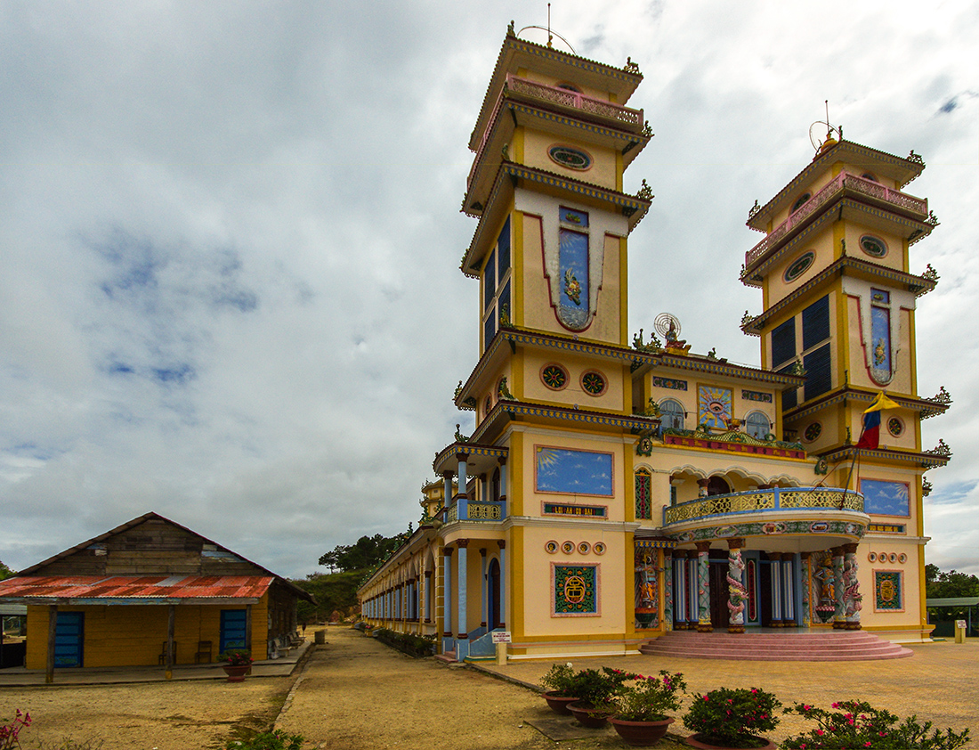 Храм Каодай в Далате