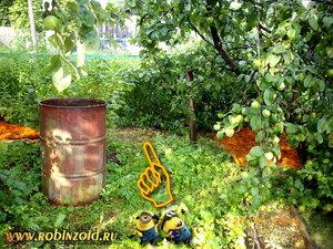 место для компоста