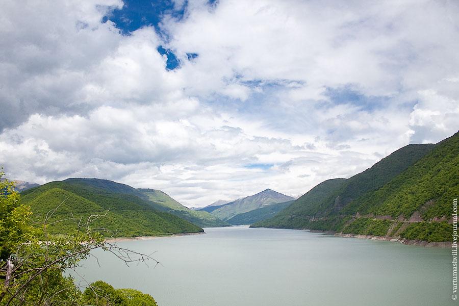 Грузия, Жинвальское водохранилище