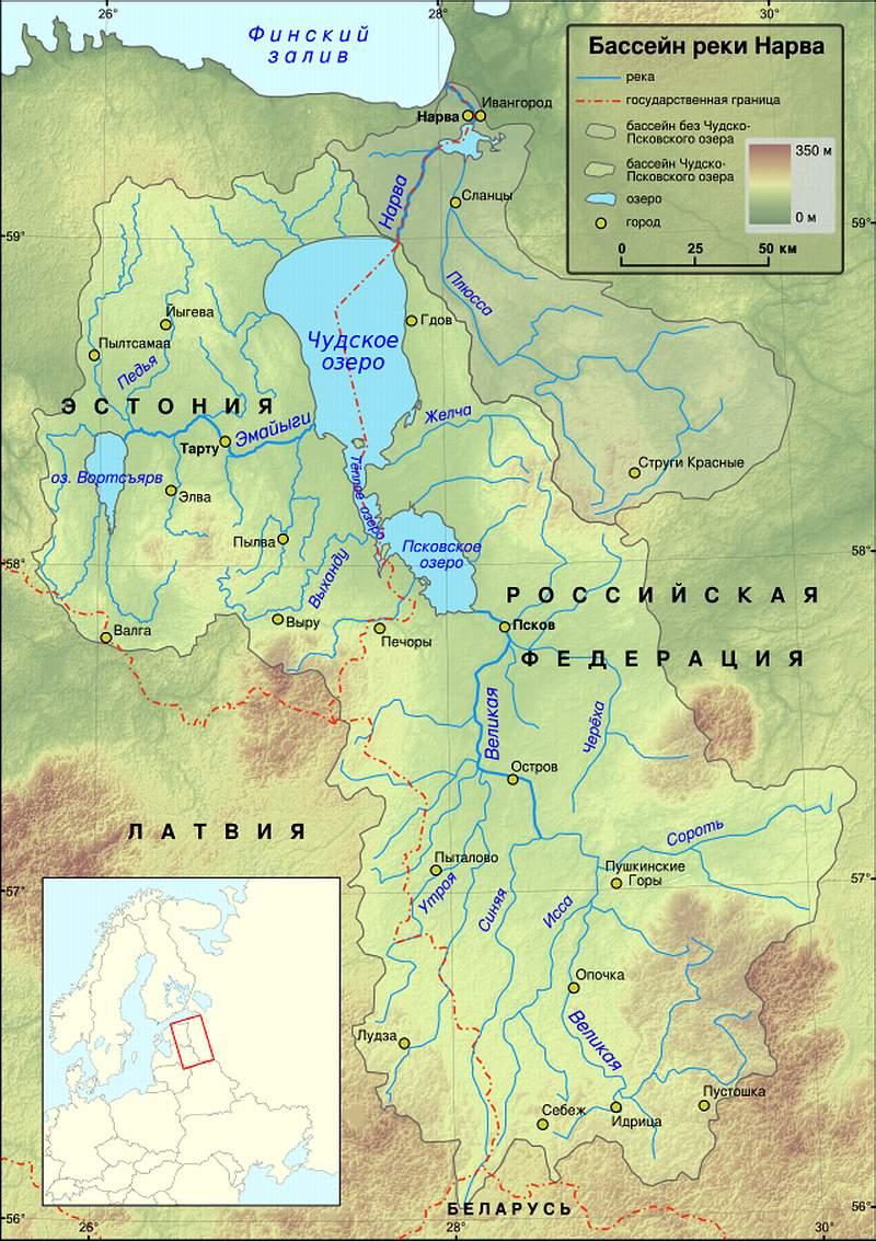 Чудское (Чудско-Псковское) озеро