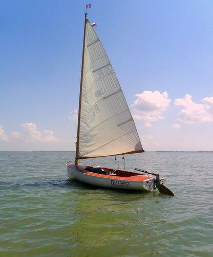 Хождение к Садкам. На яхте. 2014-07-10