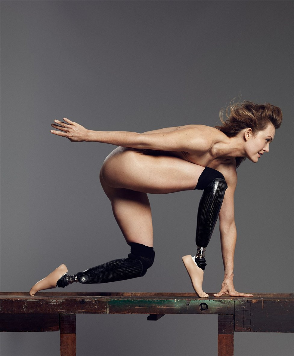 ESPN Magazine Body Issue 2014 - Amy Purdy / Эми Пёрди