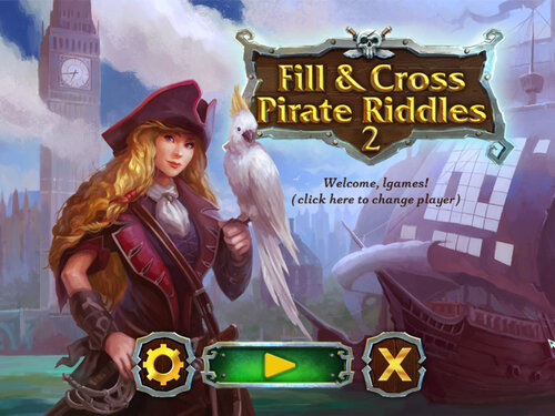 Fill & Cross Pirate Riddles 2