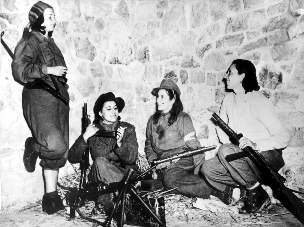 Итальянские партизанки (февраль 1945 года)