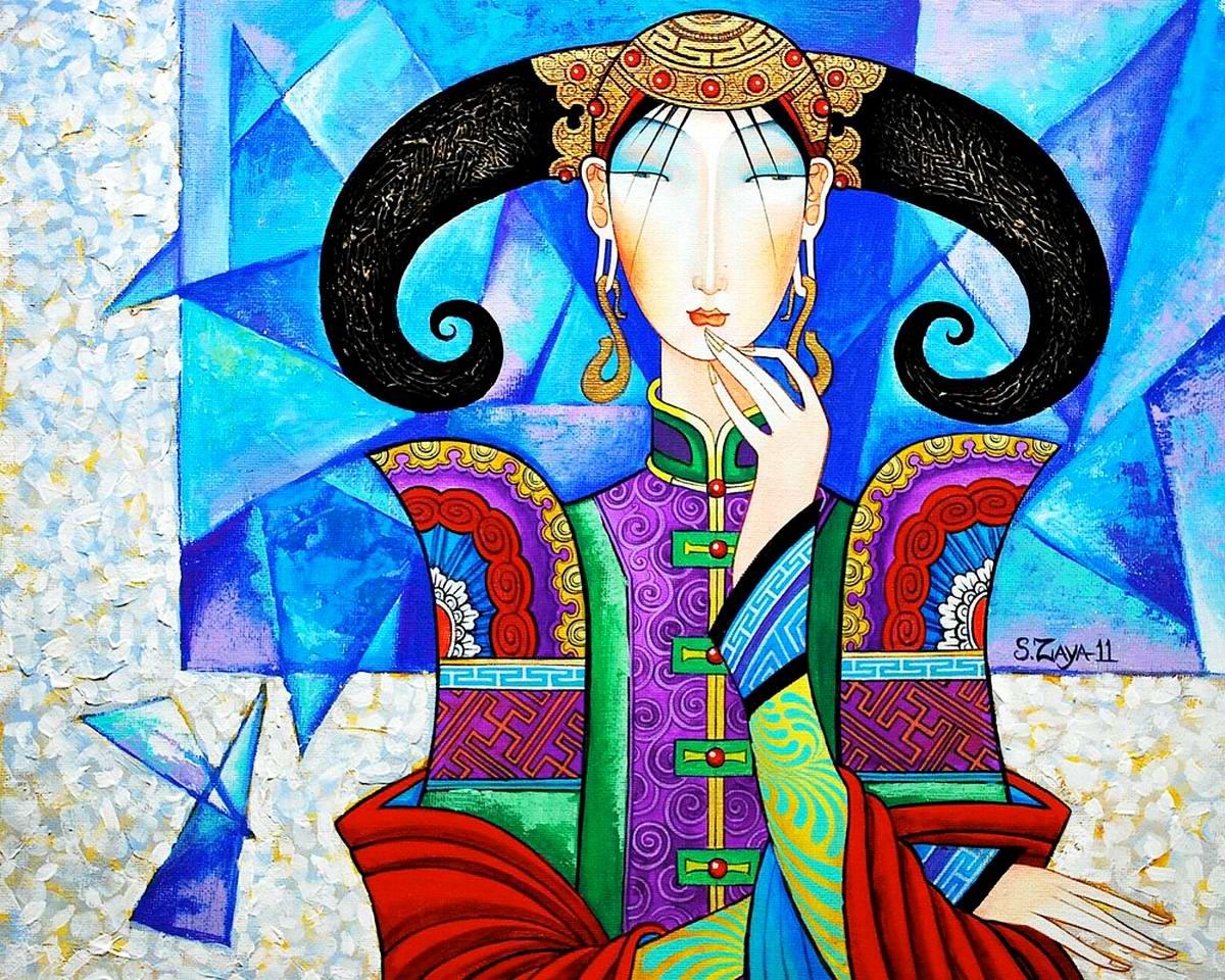 Монгольская красавица