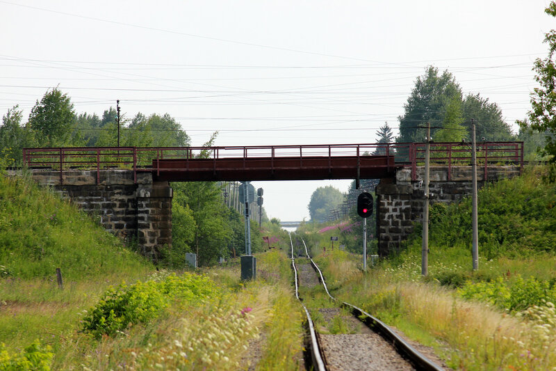 Мост Рижского хода над ходом Лихославль - Вязьма