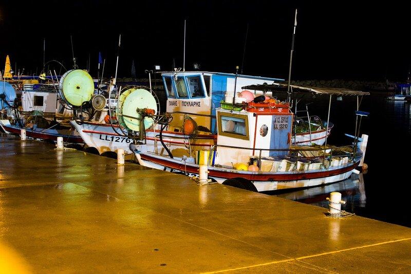 рыболовецкая марина в Ларнаке