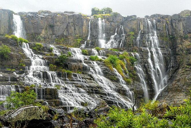 Водопад Понгур. Вьетнам
