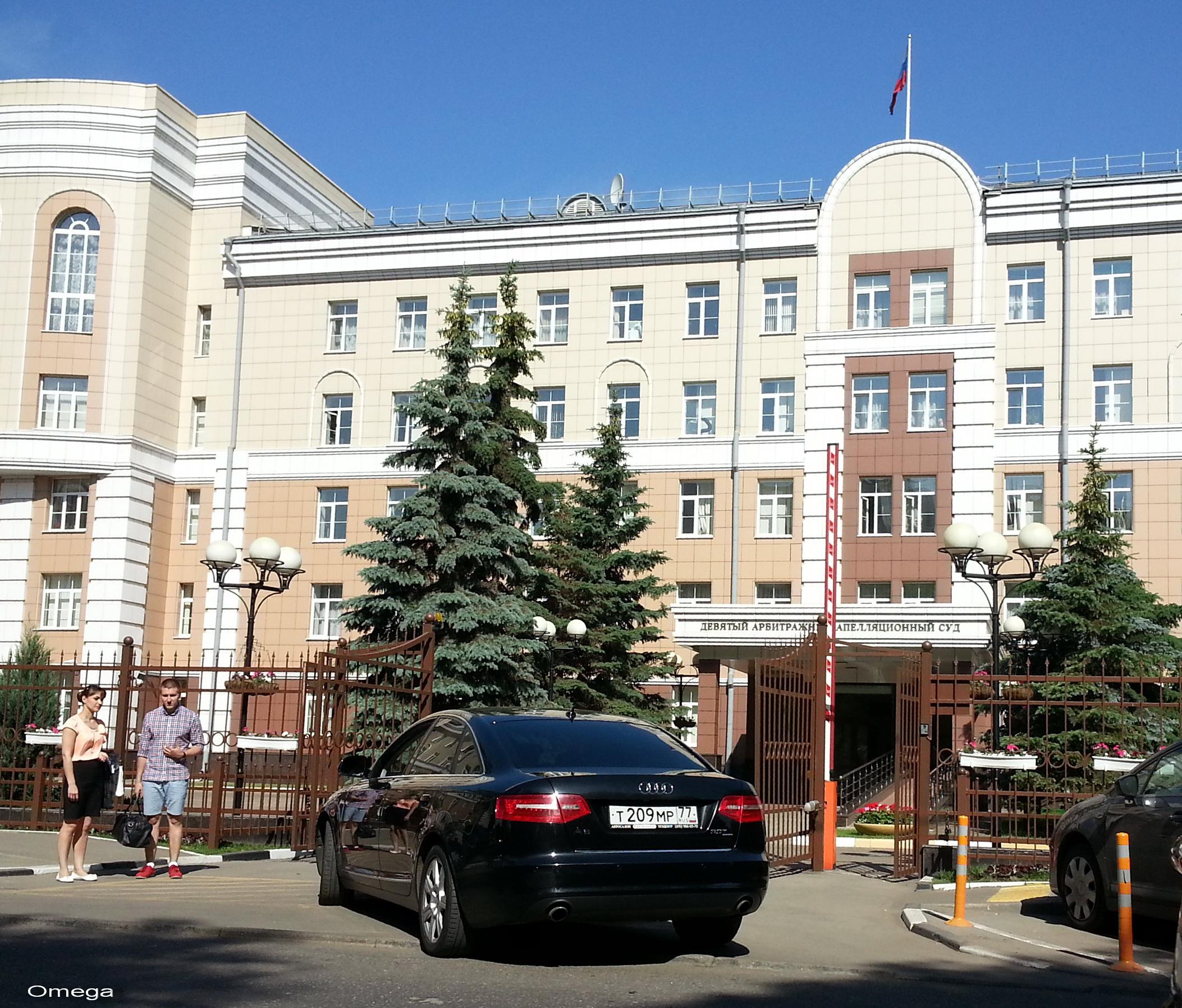 Девятый арбитражный апелляционный суд москвы оставил в силе
