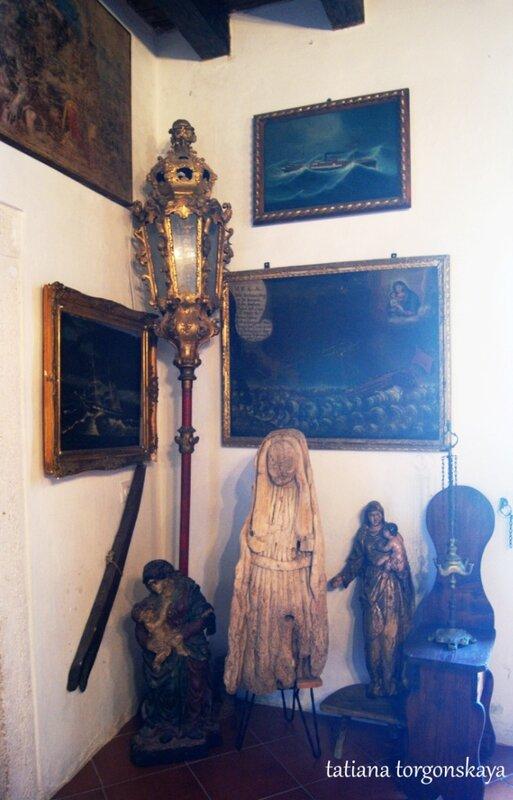 В церковном музее