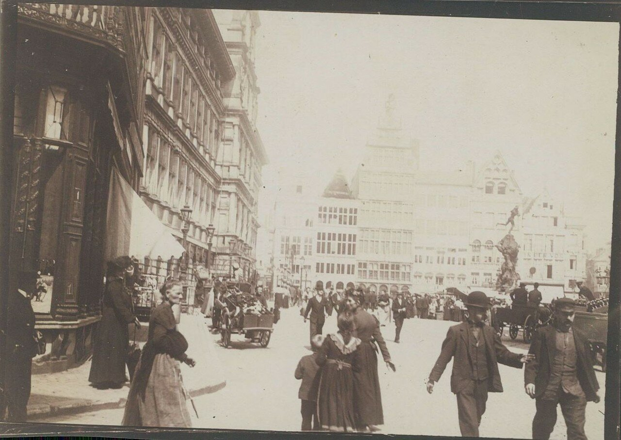 1912. Рыночная площадь