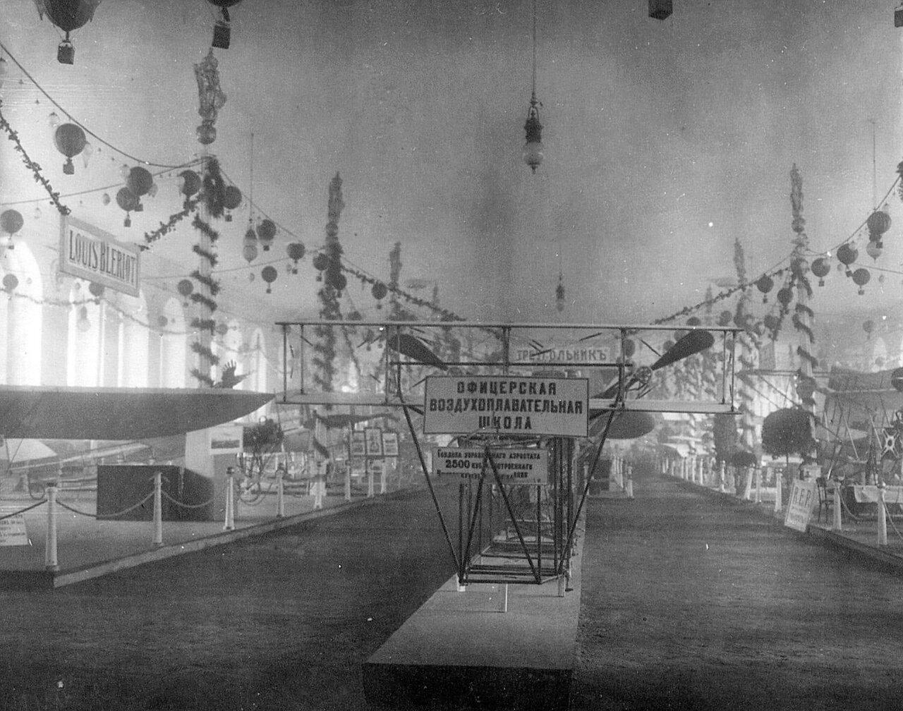 20. Гандола, управляемого аэростата, построенная Ижорским заводом в 1910 году, экспонирована Офицерской воздухоплавательной школой