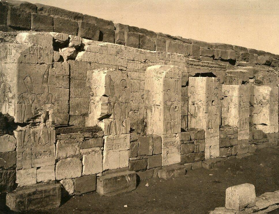Абидос. Храм Сети I. 1890