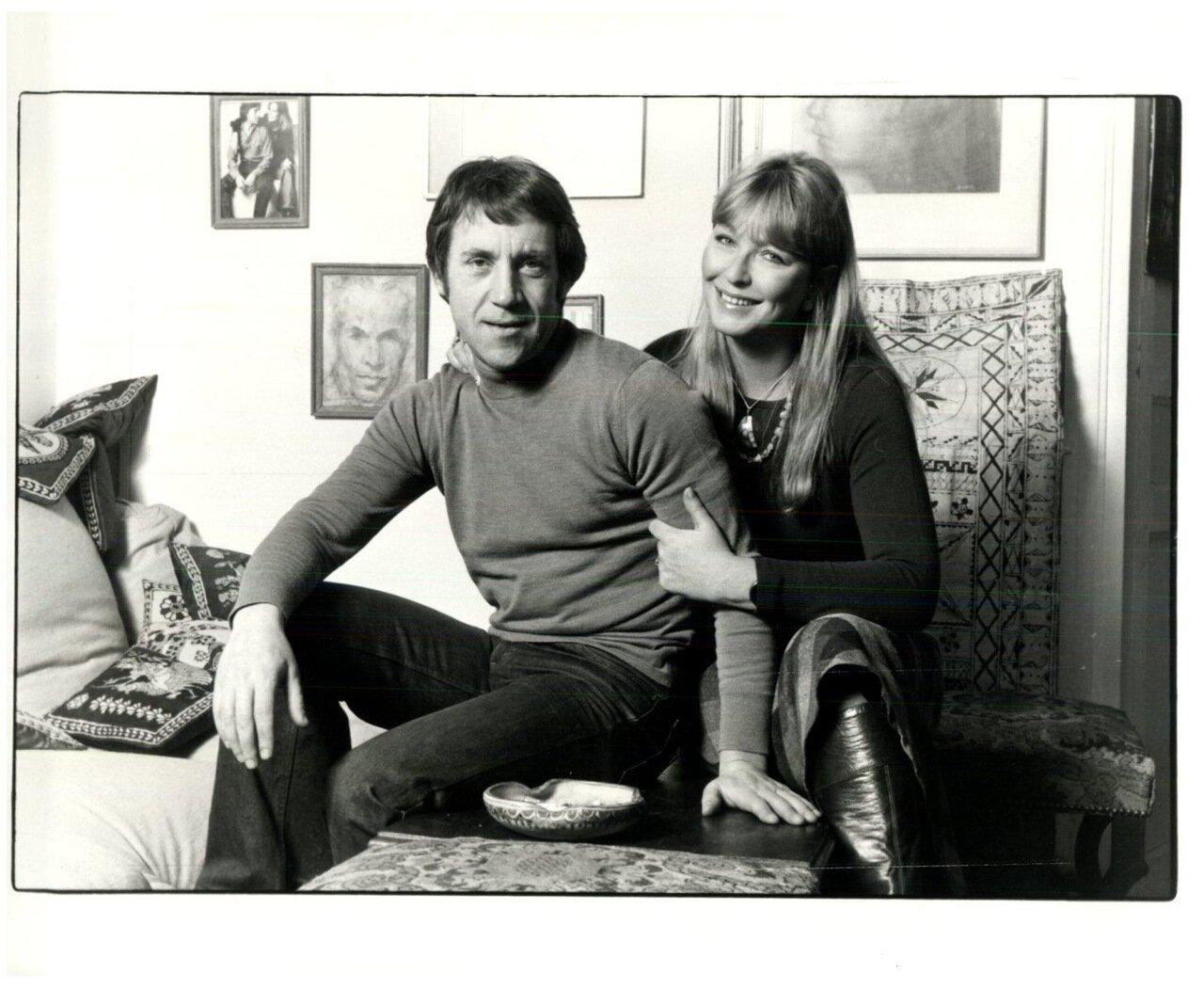 1970. Марина Влади и Владимир Высоцкий