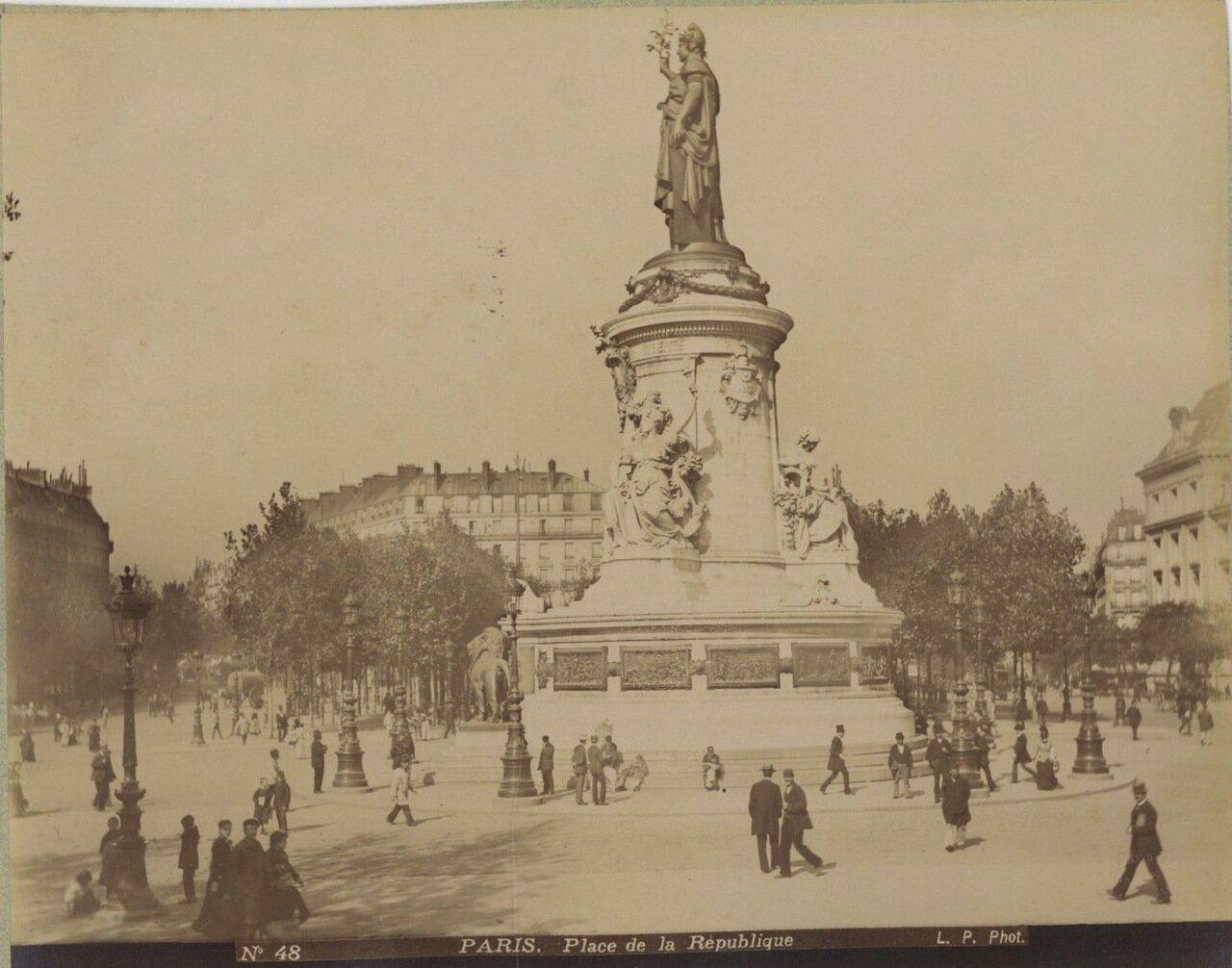 Площадь Республики. 1880-е