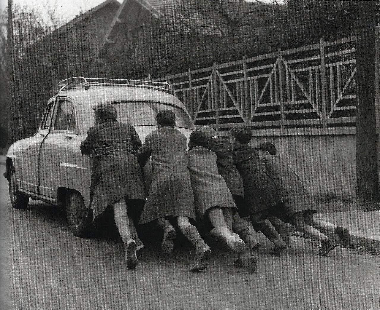 1955. Кончился бензин
