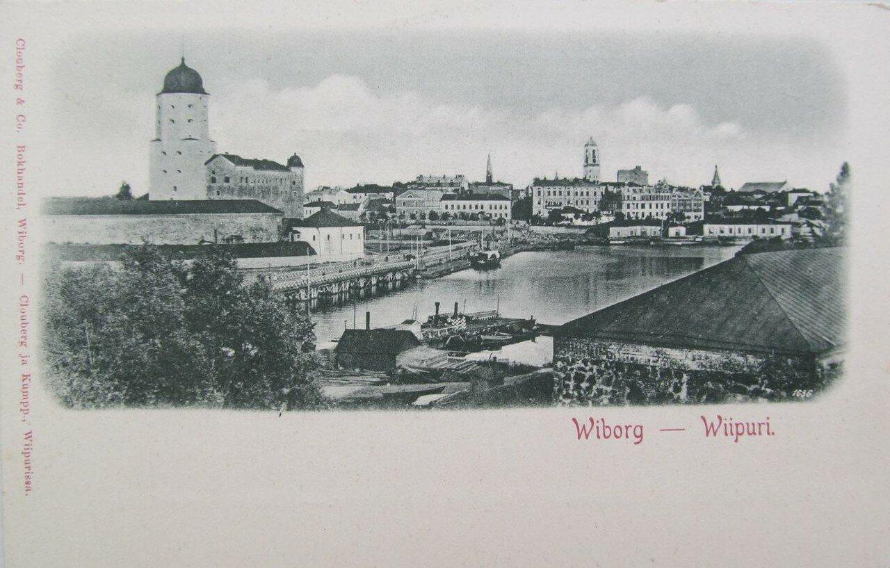 Старая открытка выборг, картинки надписями