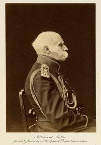 Адмирал Федор Петрович Литке (17 сентября (28 сентября) 1797, Санкт-Петербург — 8 августа (20 августа) 1882, Санкт-Петербург) — русский мореплаватель, географ, исследователь Арктики, генерал-адъютант, адмирал (1855), президент Академии Наук в 1864—1882.18