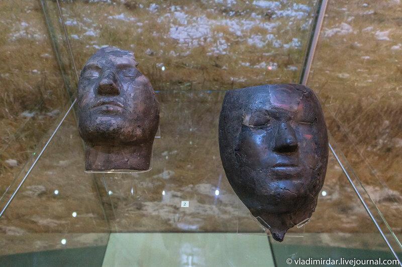 Хакасские погребальные маски