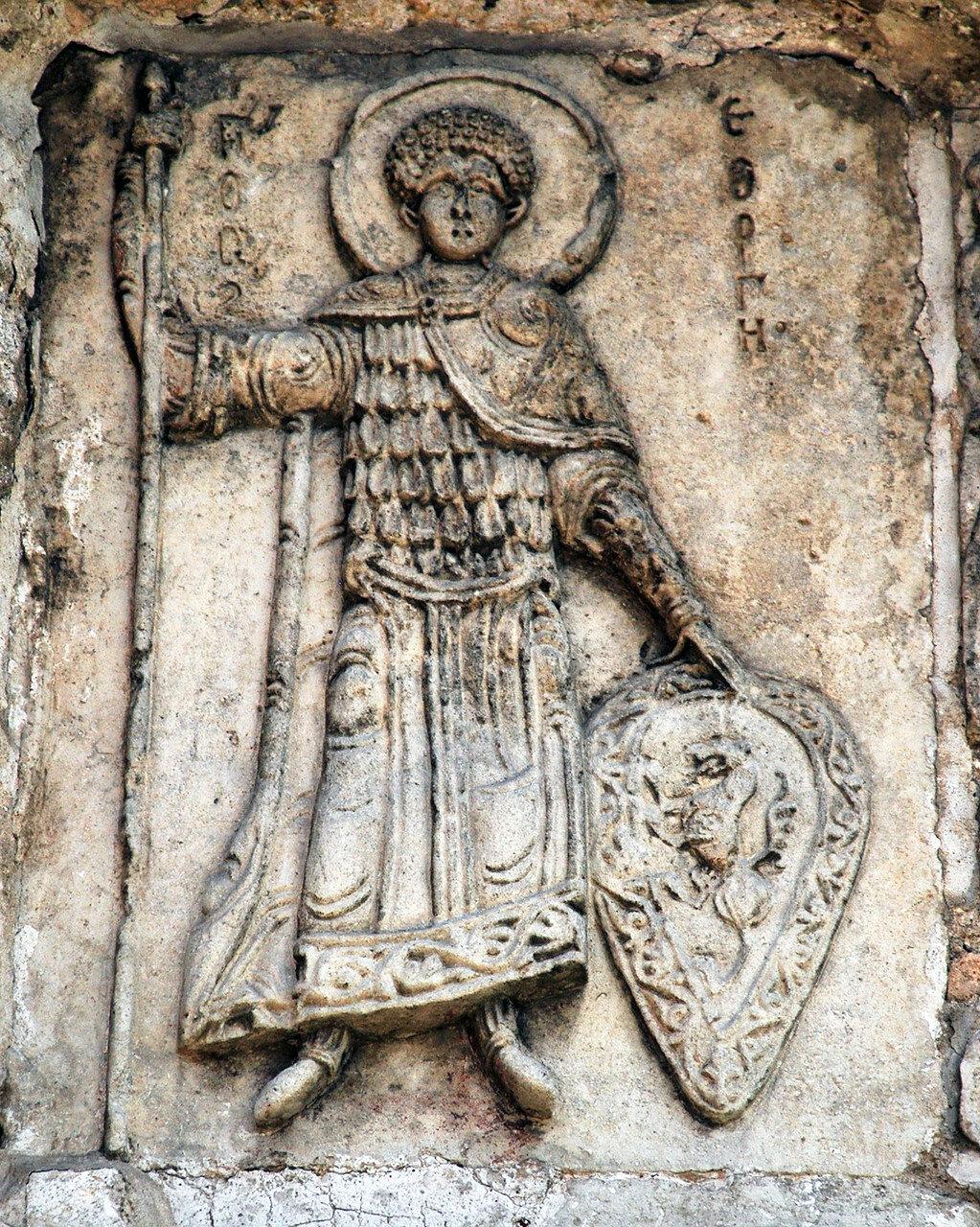 Св. Георгий с Владимирским щитом