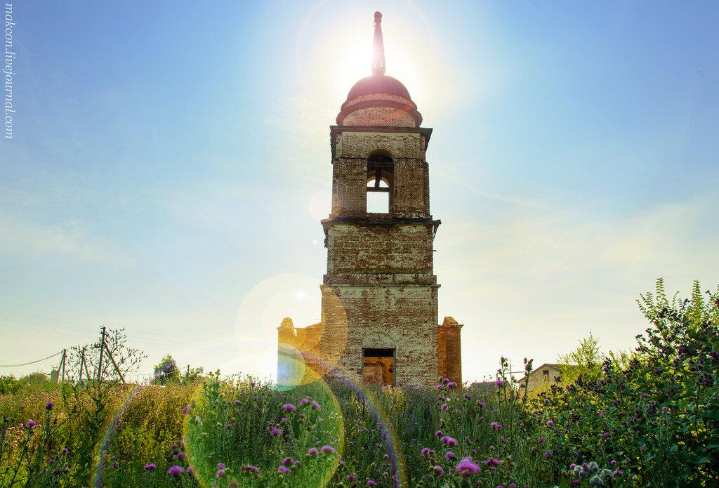 """Церковь иконы Божией Матери """"Неопалимая Купина"""" в селе Никольское"""