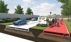 В Голландии предложили строить дороги из пластика
