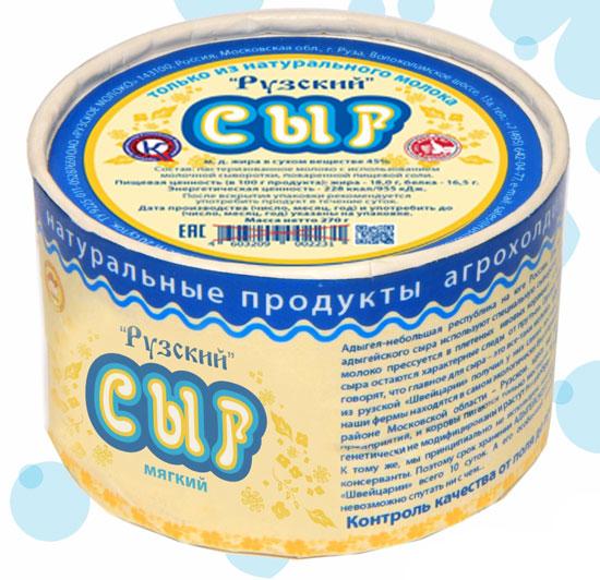 "Новинка: Мягкий сыр от компании ""Рузское молоко"""