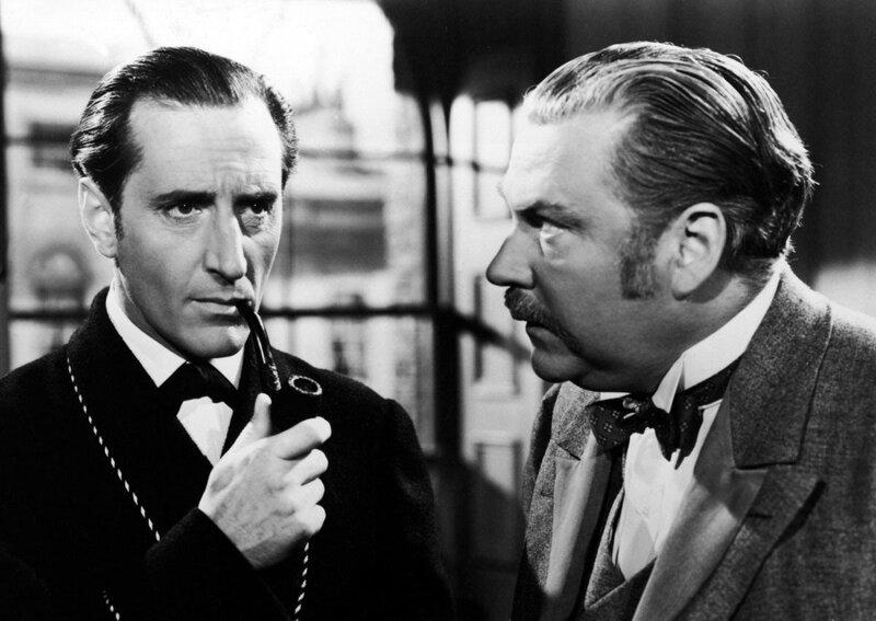 1939 Приключения Шерлока Холмса. В роли Холмса Бейзил Рэтбоун