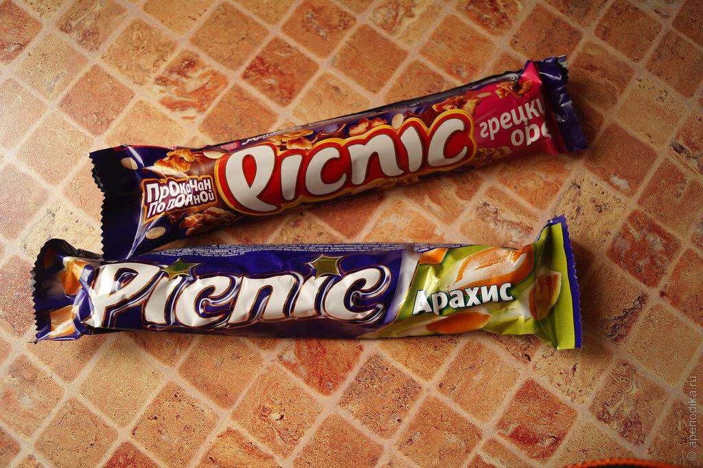 Шоколадка Picnic