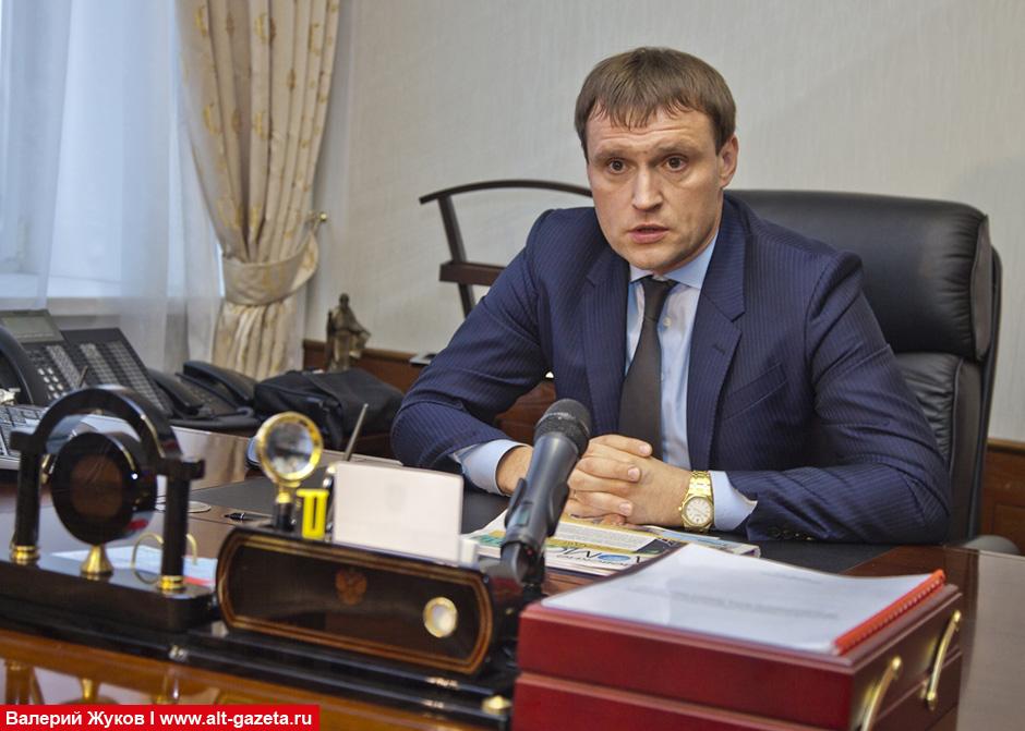 Заявление по газу от главы района Сергея Пахомова