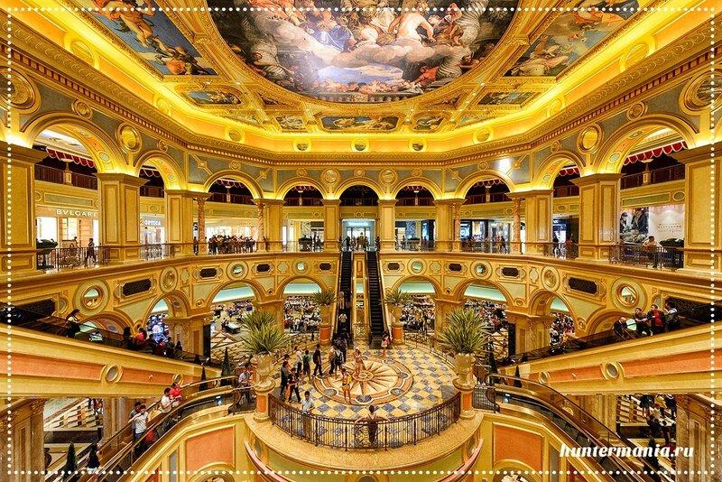 Venetian Macau самое большое казино мира