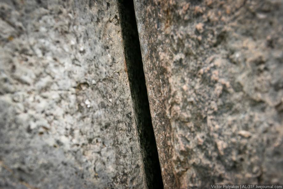 Саксайуаман. Стыки камней