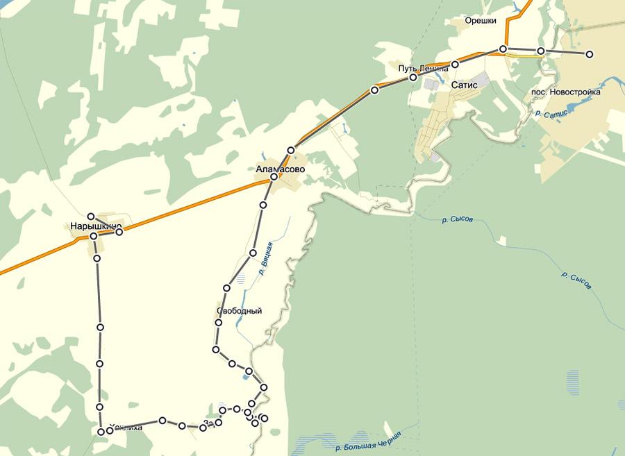 карта-поездки