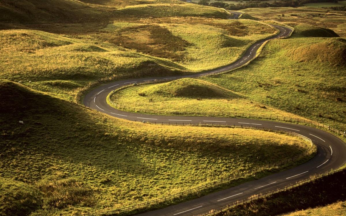 Дороги Из Разных Уголков Мира (67 Фото)