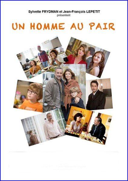 Небритый нянь / Un homme au pair (2013/HDTVRip)
