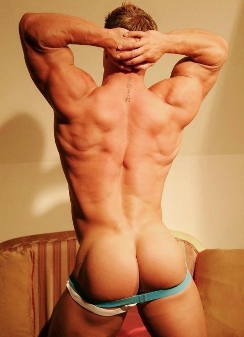 мускулистый зад