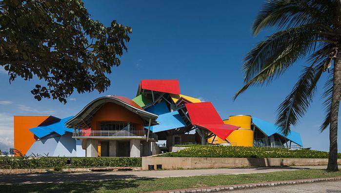 Потрясающая архитектура первого биомузея в Латинской Америке