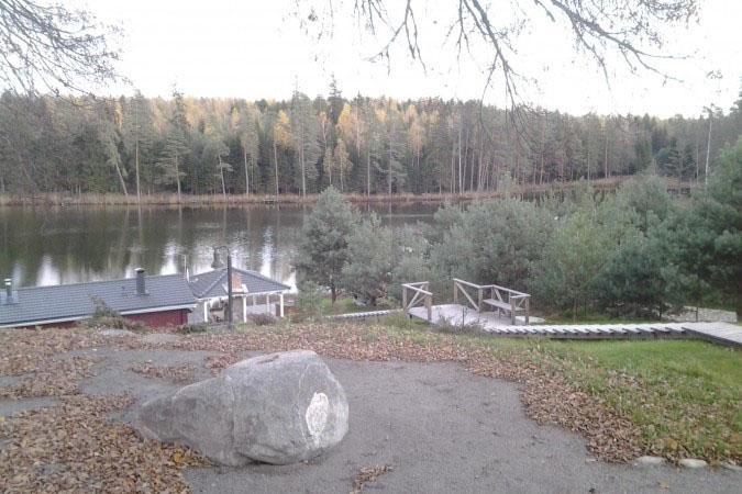 Вила Диана. Вид на озеро