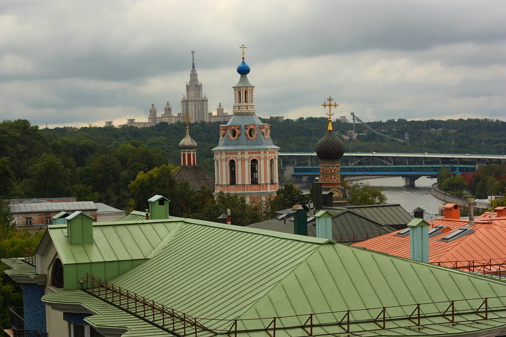 Андреевский монастырь, Университет