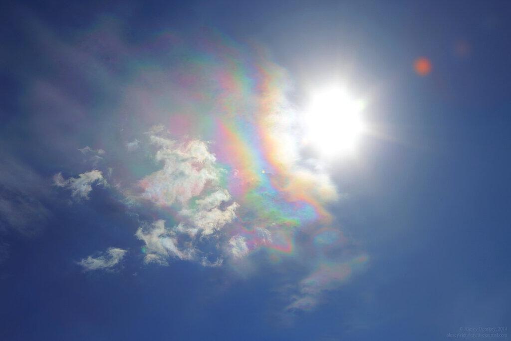 Полёт (радужные облака 2014.04.27 11:45)