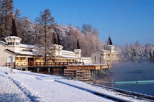 Венгрия, Хевиз зимой