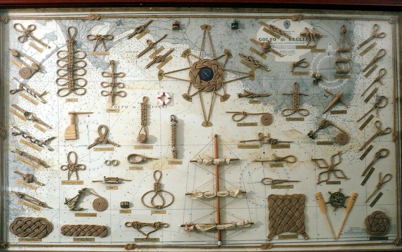 Морской музей в Искья-Понте (Museo del Mare). морские узлы