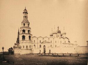 Вид на Благовещенский собор в Кремле;1562 г. Казань г.