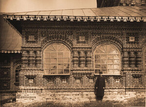 Вид на окна церкви Иоанна Предтечи в Толчкове. Ярославль г.