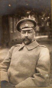 Дежурный генерал штаба генерал-майор Ермолов.