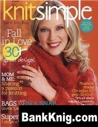 Журнал Knit Simple 2008 fall djvu 13,1Мб