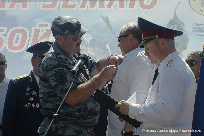Праздничная программа на день ВДВ, Саратов, площадь Гагарина, 02 августа 2014 года